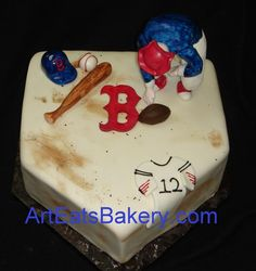 RED SOX CAKE! LOL