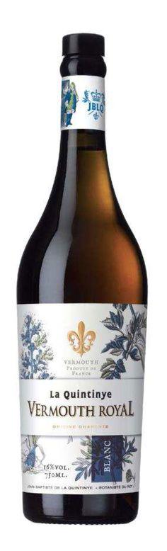 La Quintinye Vermouth Royal Blanc.