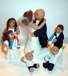 YEP Thinking That Is A Good One LOL Wedding Cake Topper