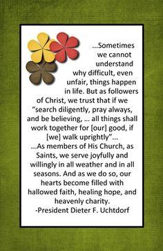 Home Teaching September 2013 -Saints for All Seasons
