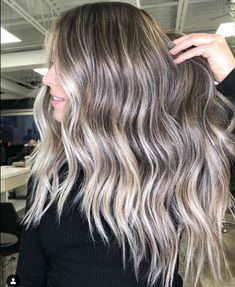 Delightful Balayage Layered Hairstyles for Long Hair to Look Divine This Year Babylights Brunette, Brunette Hair, Balayage Hair, Blonde Hair, Easy Hairstyles For Long Hair, Trendy Hairstyles, Layered Hairstyles, Hairstyle Ideas, Hair Ideas
