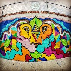 Lo más reciente que he pintado #graffiti #kide #moroleon #Guanajuato #México #shapes #streetart #spraypaint #león #urbanart #street #calle #urban #ilustracion #illustration #fullcolor #colors #nikon #fisheye #rokinon #muro #wall