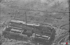 Barrikady factory , building visible on extreme left of aerial view