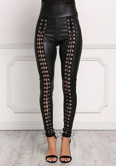 pieces Stoffhose Jeggings Hose Funky Foxy Low Rise Lila