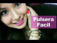 Como hacer una Pulsera con Nudos Super Facil : Pekas Creaciones - YouTube
