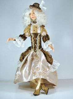OOAK Fantasy Artdoll  Keri  IADR by mary187 on Etsy - Created by Marina Yax