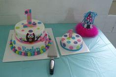 "Photo 1 of 21: Owl Theme / Birthday ""Raelyn Mae's 1st birthday!"""