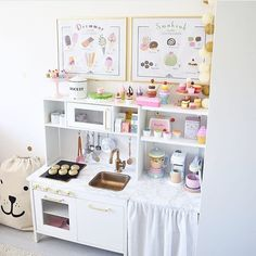 An Ikea children's space remains to fascinate the little ones, as they are provided a lot more than kids' room Ikea Kids Kitchen, Diy Play Kitchen, Play Kitchens, Toddler Kitchen, Toddler Rooms, Ikea Bedroom, Bedroom Ideas, Bedroom Storage, Kids Play Area