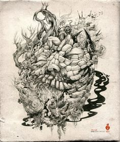 Brilliant Illustrations by DZO Olivier