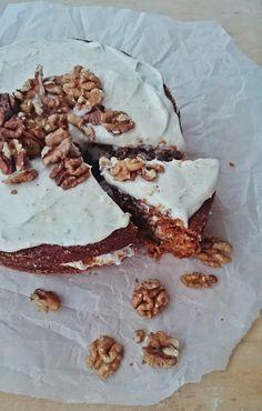 Ruokakonttuuri: Porkkanakakku / Vegan carrot cake