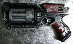 League of Space Pirates: Paint Modded Nerf Maverick Guns