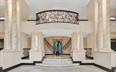 This incredible mega mansion is located in Sandhurst, Sandton, Gauteng, Johannesburg, South Africa.