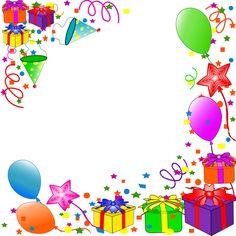 Illustration of Happy Birthday background. vector vector art, clipart and stock vectors. Happy Birthday Template, Happy Birthday Frame, Happy Birthday Photos, Birthday Clipart, Birthday Frames, Singing Happy Birthday, Birthday Invitation Templates, Happy Birthday Wishes, Birthday Greetings
