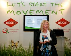 Our seminar at EIBTM 2011, in the Sustainable Events corner.