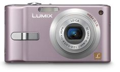 Panasonic Lumix DMC-FX10P 6.0MP Digital Camera with 3x Optical Image Stabilized Zoom (Pink) by Panasonic. $297.40. From the Manufacturer                 The Panasonic DMC-FX10 Lumix digital camera features a superb optical 3x zoom (35-105mm, on a 35mm film camera equivalent) Leica DC lens with f/2.8 brightness, a 6-megapixel CCD and a large, 2.5-inch LCD. all within a compact, stylish profile.  An Intelligent Image Stabilization system comprises two features, Mega...