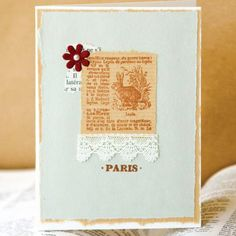 For the Love of Home Alterables Project + 99¢ Red Tag Ephemera Sale