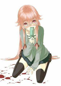 Asuna, Yuno Mirai Nikki, Manga Anime, Anime Art, Pikachu, Mirai Nikki Future Diary, Yandere Girl, Yuno Gasai, Genesis Evangelion