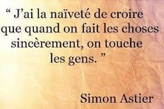 Inspirational Quote: Et tant pis pour moitrip bon trop con Simon Astier, Words Quotes, Me Quotes, Sayings, French Quotes, Positive Attitude, Some Words, Powerful Words, Beautiful Words