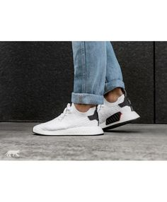 9882267dfcfef Adidas Nmd R2 Primeknit Pk White Core Black trainers for cheap