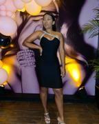 Diva Rhinestone Bandage Dress (Black) – Alieva Cute Casual Outfits, Corset, Diva, Bodice, Party Dress, Fashion Outfits, Formal Dresses, Celebrities, Pretty