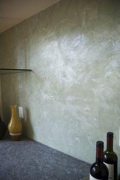 venetian plaster - looks like a pearl