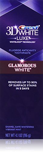 #Crest 3D White Luxe Glamorous Fluoride Anticavity Toothpaste, Vibrant Mint 4.1 oz by Crest (Pack of 2)