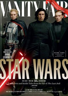 See Star Wars actors Carrie Fisher, Mark Hamill, Daisy Ridley, John Boyega and Gwendoline Christie, among others photographed by Annie Liebowitz.