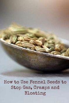 In herbal medicine fennel seeds are recognized as a powerful carminative  a herb that assists in expelling gas from your intestinal tract. Heres how these powerful little seeds reduce gastrointestinal problems and flatulence, a few potential precautions