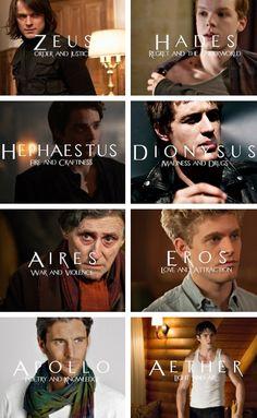 Vampire Academy + Greek Gods