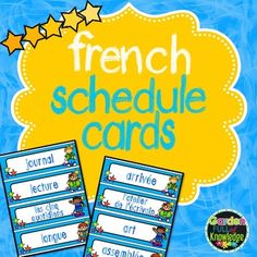 These are daily schedule cards with a variety of subjects and events. Laminate cards for durability. Place a strip of magnetic tape on the back of each card and place them on your whiteboards. You may also wish to use them in pocket charts. Great visual for students!