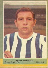 Terry Oldfield of Bristol Rovers in Bristol Rovers Fc, Football Cards, Baseball Cards, Bristol City, Chewing Gum, How To Memorize Things, 1960s, Memories, Fan