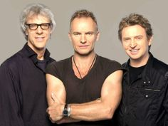 New Wave artists aging gracefully. An 80′s world gone by…THE POLICE