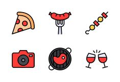 Nawicon on Iconfinder Cooking Icon, Party Icon, Set Design, Icon Set, Outline, Childhood, Entertaining, Celebrities, Fun
