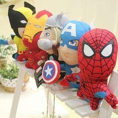 avenger dolls (love this idea for boys)