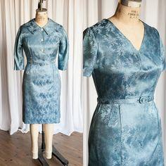 Brenham Manor Kleid Set Vintage 50er Jahre Kleid von TwoOldBeans