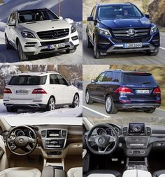 Mercedes-Benz GLE before ML and now new GLE
