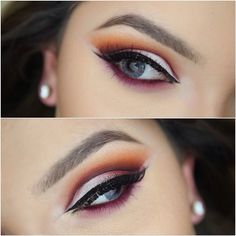 #ShareIG Here was the second cut crease I did. I'd love some feedback as to which you'd prefer between the last I posted and this one. I'D LOVE YOUR HELP