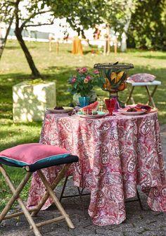 Tischdecke, indian summer, paisley von Apelt, Artikel 6101