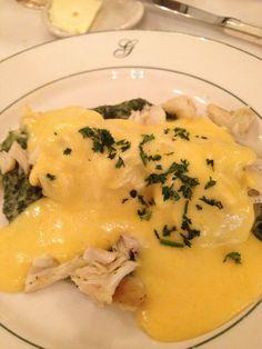 Galatoire's Restaurant - New Orleans, LA, United States. Crab sardou