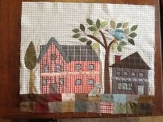 My block 1 of the Yoko Saito mystery quilt. So stoked that it will be used as a sample for Happiness Is. . .Quilting!  Really enjoyed it.