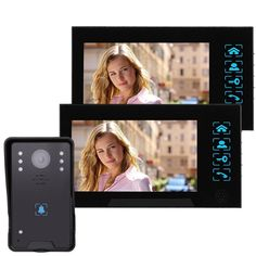 167.39$  Watch now - http://alib5g.worldwells.pw/go.php?t=32543932181 - 7 '' Video Intercom with Doorbell Color Video Door Phone IR Night Vision Camera Monitor For Home Security 1000TVL F4345A2 167.39$