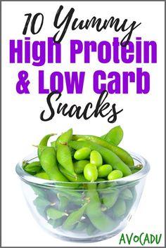 10 High Protein & Low Carb Snacks | Avocadu.com