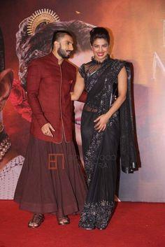 Priyanka Chopra | Ranveer Singh | Deepika Padukone at Anju Modi's Bajirao Mastani Collection Launch Photo #185