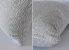 poduszki szare w stylu skandynawskim/ cushion scandinavian style