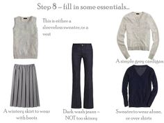 Project 333: navy & grey, step by step | The Vivienne Files