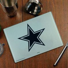 * Dallas Cowboys Logo Glass Cutting Board, $14.99