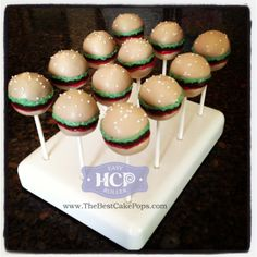 - Hamburger Cake Pops by the Developer of the Easy Roller