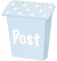 Kids Concept Postkasse Star Blå
