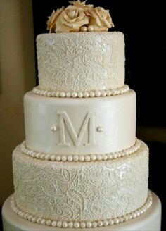 Bizcocho de boda/ wedding cake