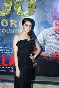 "Shraddha Kapoor at ""Ek Villain"" 100 Crore Success Bash."